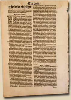 The 1537 Matthew-Tyndale Bible: The First English Bible Directly Translated And The Oldest Printed English Scripture Available