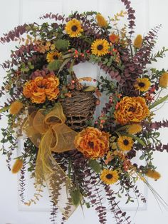 Rustic Country wreath