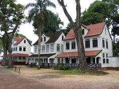 Koloniale woningen, Suriname
