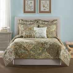 Add an extra layer of warmth to your bed in the colder months or a lightweight cover in the warmer months with quilts and coverlets from Bed Bath & Beyond. Queen Quilt, Quilt Sets, King Beds, Bed & Bath, Bed Spreads, Bedding Shop, Sweet Home, Quilts, House Styles