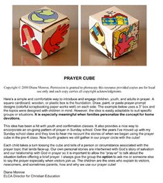 Prayer Cubes
