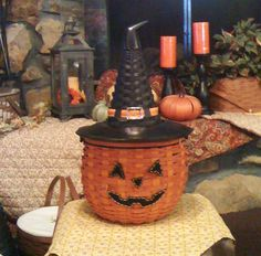 CUTE!! Don't you think:) - possibly buy the pumpkin basket also