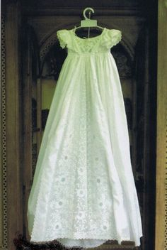 Diana's christening gown