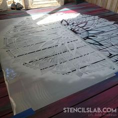 The mandala stencils are so easy to use so even a first time stenciler will achieve a stunning results! The mandala designs are perfect to decorate a floors as well as a walls or even tabletops. With our reusable mandala stencils you can experiment with colors because our stencils are reusable and you can use one stencil as much as you want!