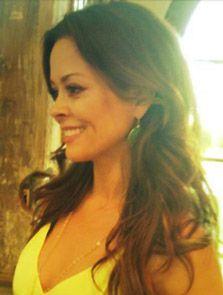 Brooke Burke wearing the Serenity Drop Earrings in Jade! Celebrity Style | Stella & Dot Michelle Obama has them too.