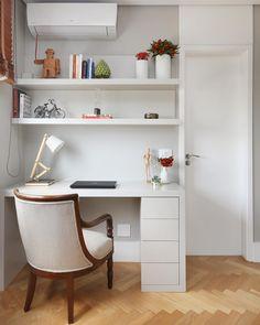 Escrivaninha pequena: 80 ideias para complementar o seu espaço
