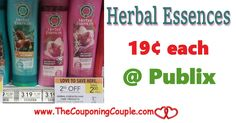 Pick up Herbal Essences for Only $0.19 @ Publix starting 3/8 or 3/9 Be sure to clip your coupons and grab a couple of these this coming week!  Click the link below to get all of the details ► http://www.thecouponingcouple.com/pick-up-herbal-essences-at-publix-only-0-69/ #Coupons #Couponing #CouponCommunity  Visit us at http://www.thecouponingcouple.com for more great posts!