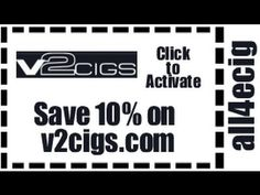 https://www.youtube.com/watch?v=uSJ9ibCPvM8 - V2 Cigs Discount V2 Cigs coupon all4ecig is good for 10% off everything on the v2cigs.com. To apply the coupon just type all4ecig at check-out and save 10% on your entire V2 Cigs purchase. https://www.facebook.com/bestfiver/posts/1411645755715062