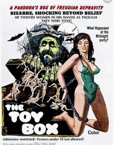 film poster art The Toy Box Horror Movie Posters, Movie Poster Art, Horror Movies, Poster Poster, Punk Poster, Theatre Posters, Zombie Movies, Cult Movies, Serpieri