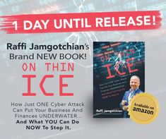 My new book, On Thin Ice, comes out today! Buy it on Amazon today!! (And get bonuses!) On Thin Ice, Amazon Today, Cyber Attack, New Books, Finance, News, Economics