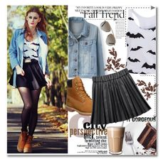 """""""Fall Trend"""" by black-fashion83 ❤ liked on Polyvore featuring Stella & Dot, Timberland and Tom Ford"""