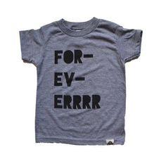 For-Ev-ERRR  || tee toddler kid clothing fashion #ss15ahoyamigo
