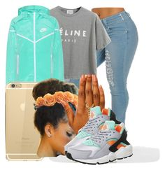 """""""."""" by ray-royals ❤ liked on Polyvore featuring Chicnova Fashion and NIKE"""