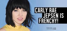 Carly Rae Jepsen Gets the 'Grease: Live' Call #carlyraejepsen