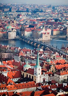 The Czech Republic - Prague: Europe Centre.one of my favorite cities Places Around The World, Oh The Places You'll Go, Travel Around The World, Places To Travel, Places To Visit, Around The Worlds, Budapest, Wonderful Places, Beautiful Places