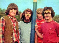 Credence Clearwater Revival.  'Bad Moon Rising'.  No.1 for three weeks from Sept.20 1969.