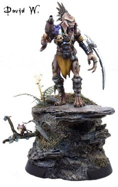 Predator-shaped Kroot