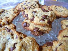 SPLENDID LOW-CARBING BY JENNIFER ELOFF: Our family's favorite CHOCOLATE CHIP COOKIES. Visit us for more favorites at: https://www.facebook.com/LowCarbHitParade