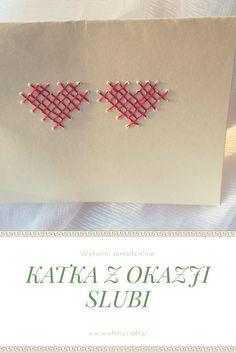 DIY kartka z okazji ślubu