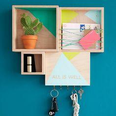 3 design ideas from bohemian modern home sweet home for Panca mudroom moderna