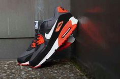Nike Air Max 90 Grey/Crimson