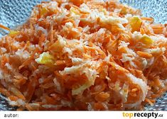 Mrkvový salát s pekingským zelím a pomerančem Sweet And Salty, Macaroni And Cheese, Grains, Salads, Food And Drink, Rice, Ethnic Recipes, Diet, Pineapple