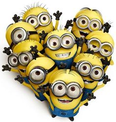 Love the minions...