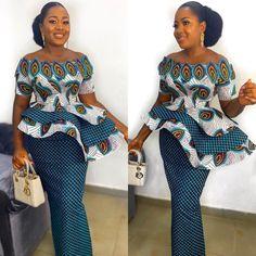 African Fashion Ankara, Latest African Fashion Dresses, African Print Fashion, Africa Fashion, Nigerian Fashion, African Attire, African Dress, African Wear, Ankara Short Gown Styles
