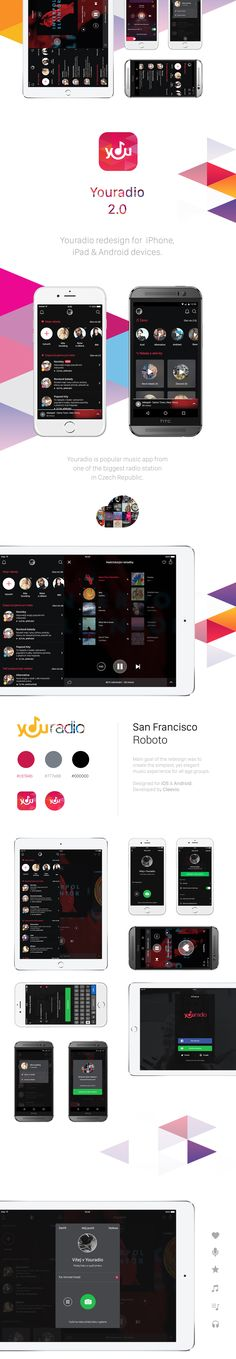 Youradio - Mobile Apps Redesign on Behance