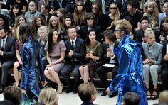 Gabriella Wilde + Jade Williams + Tali Lennox Photo - Burberry Spring Summer 2013 Womenswear Show - Front Row