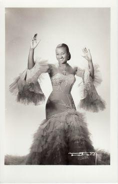 Celia Cruz by Narcy, Havana 1950s