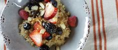 Oats with Berries and Nuts Recipe