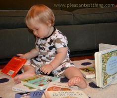 Tips and book suggestions for reading with babies