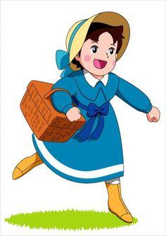 heidi in blue Heidi Cartoon, Cartoon Tv Shows, Old Cartoons, Classic Cartoons, Old Anime, Manga Anime, Betty Boop, Retro, Clipart