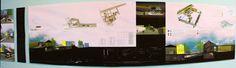 Architecture Board - an intermodal station for Viçosa/Brazil  2016_Urban Design Project - ARQ 346   Students: Caio Lucarelli, Arthur Franklin and Ana Cibelle Ferreira.   Professors: Andressa Martinez e Tiago da Cunha.  Federal University of Viçosa/ Brazil