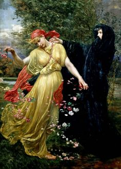 loumargi:  Valentine Cameron Prinsep - At the First Touch of Winter, Summer Fades Away