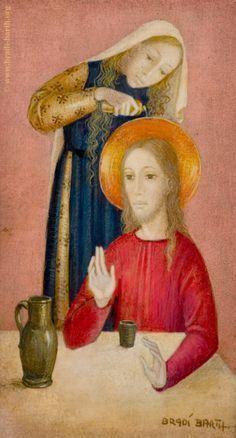 Bradi Barth - Mary Magdalene and Jesus