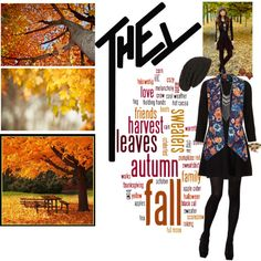 """Fall"" by chareznasheer on Polyvore"