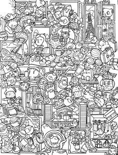 Amazon.com: Doodle Chaos: Zifflin's Coloring Book (Volume 3) (9781523834778): Zifflin, Irvin Ranada: Books