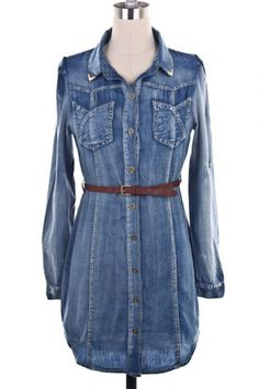 jean dress..Can't wait to see mine!