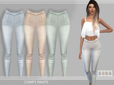 Sims 4 CC's - The Best: Pants by Puresims
