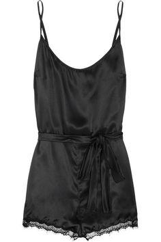 66fd72750f6f Mimi Holliday by Damaris - Bisou Bisou Flambé stretch-silk satin playsuit