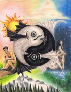 Yin and yang at its best