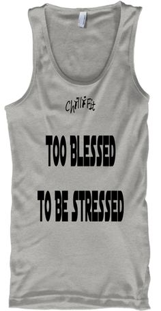 Discover Blessed Wear T-Shirt from ChilliFit Clothing Co., a custom product made just for you by Teespring. Yoga Clothing, Clothing Co, Tank Man, Just For You, Workout, Tank Tops, T Shirt, How To Wear, Clothes