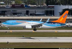 C-FPZA Sunwing Airlines Boeing 737-8K5(WL) taken 15. Feb 2014 at Fort Lauderdale - Hollywood International (FLL / KFLL) airport, United Stat...