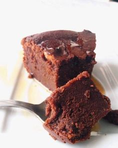 Aujourd'hui je vouspropose un super fondant au chocolat sans beurre etsans scrupules. Au départ, j'étais septique quand j'ai decouvert cette recette chez Le renard et les raisin…