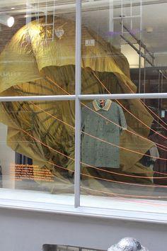 studioXAG: fred perry + christopher raeburn storefront