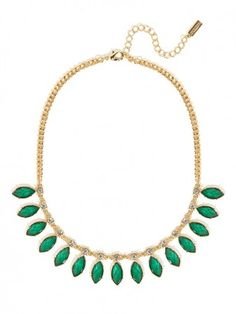 check out our stunning hunter leaf strand green is perfect for spring, but why not Fall? Even better! @BaubleBar #BBXPF