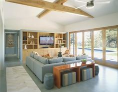 Mendel Residence - Family Room, Scrafano Architects | Remodelista Architect / Designer Directory