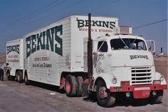 Vintage Trucks, Old Trucks, Road Train, Classic Trucks, Semi Trucks, Rigs, Trailers, Badass, Concrete